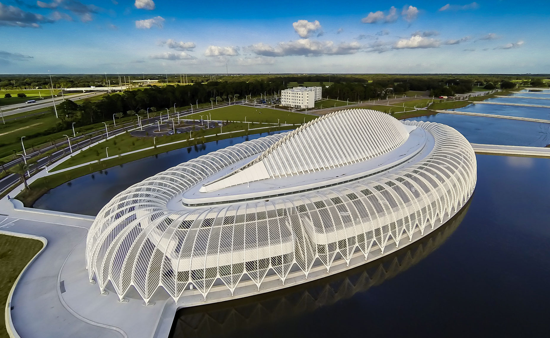 Aerial Florida Polytechnic University  - Mark Borosch Photography - Lakeland, FL