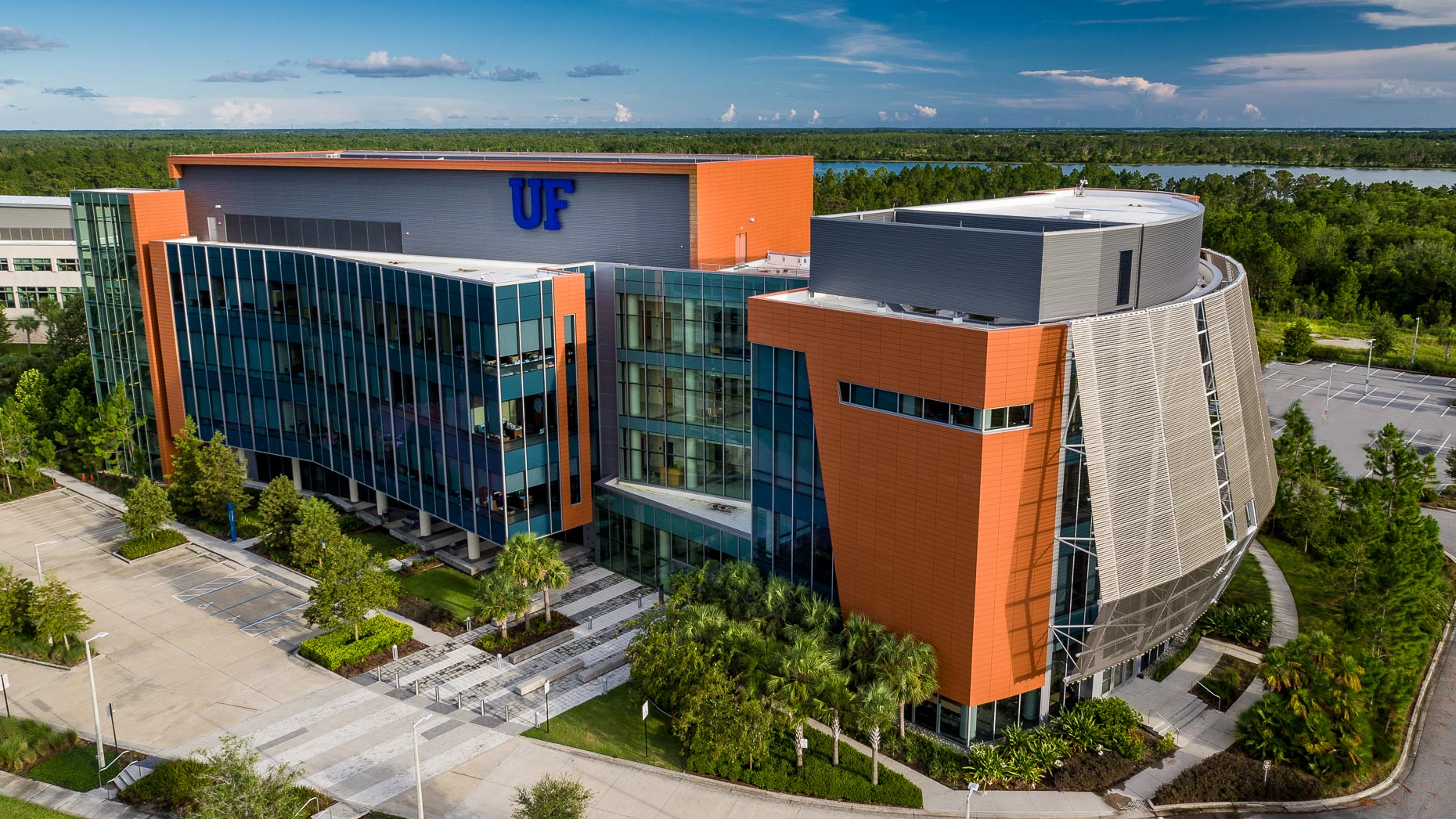 Aerial University of Florida Campus  - Mark Borosch Photography - Orlando, FL
