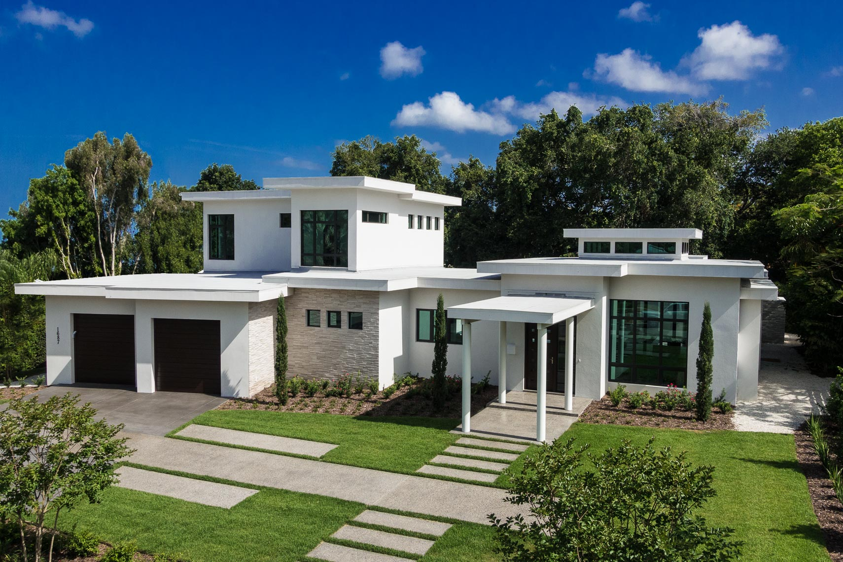 Aerial Custom Home - Mark Borosch Photography - Sarasota, FL