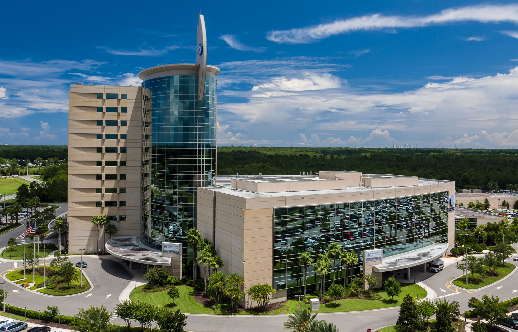 Aerial Florida Hospital Memorial Medical Center  - Mark Borosch Photography - Ormond Beach, FL