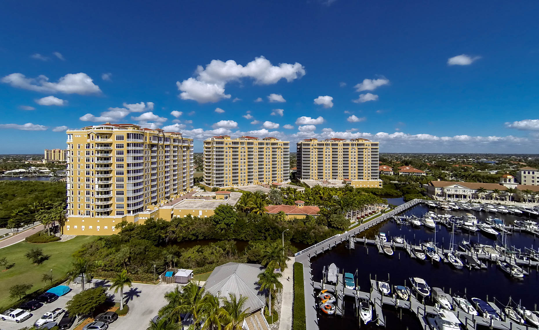 Aerial Highrise Condos  - Mark Borosch Photography - Cape Coral, FL