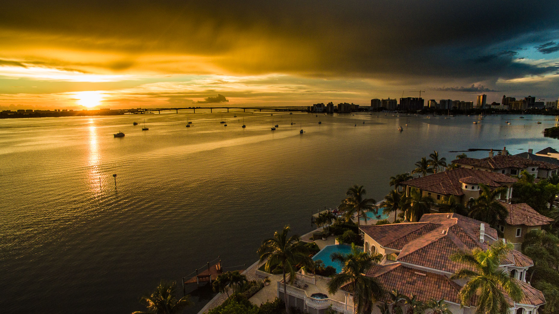 Aerial Bird Key  - Mark Borosch Photography - Sarasota, FL