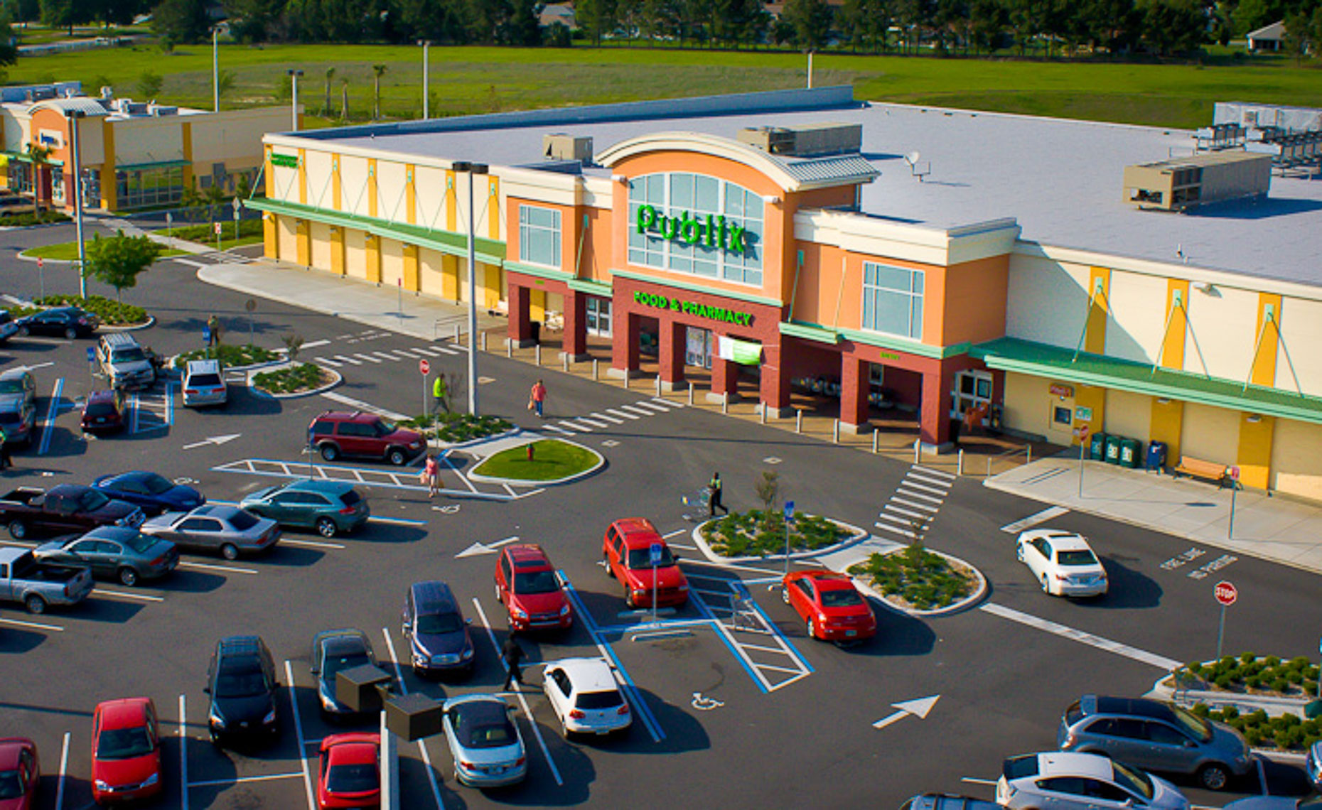 Aerial Publix - Mark Borosch Photography - Tampa, FL