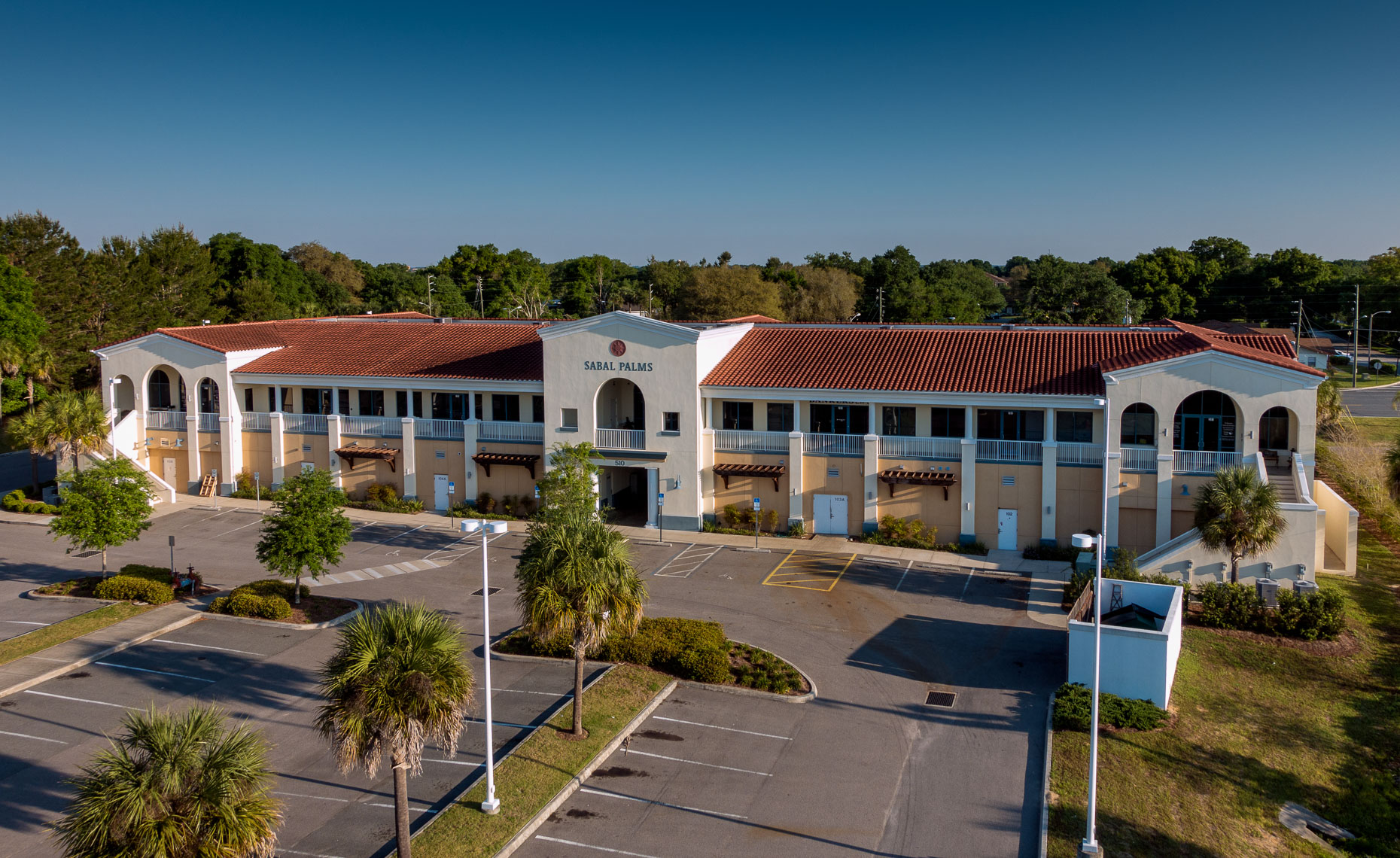 Aerial Office Building  - Mark Borosch Photography - The Villages, FL