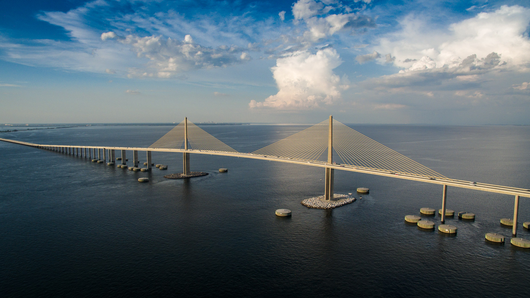 Aerial Skyway Bridge - Mark Borosch Photography - St. Petersburg, FL