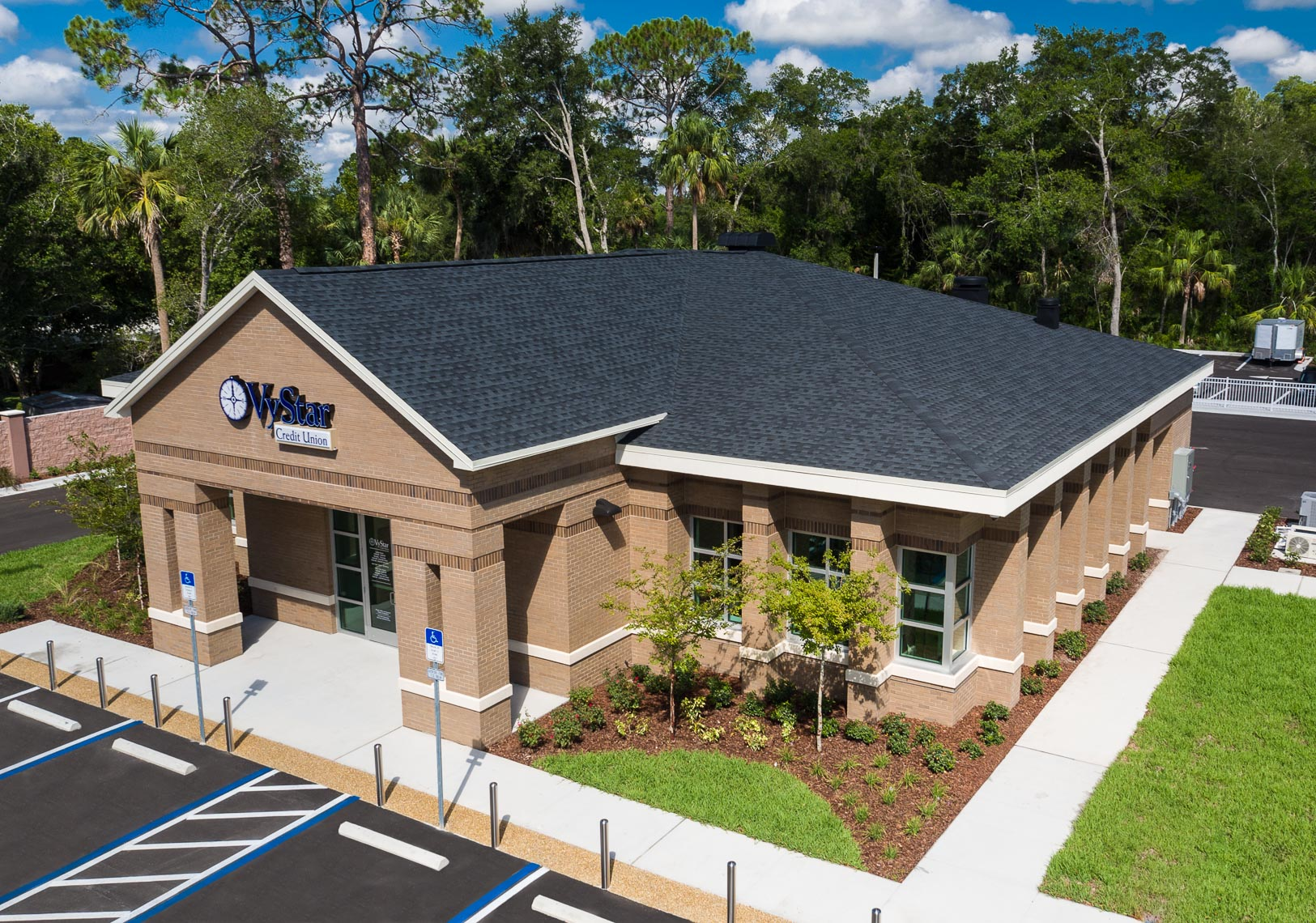 Aerial Vy Star Credit Union - Mark Borosch Photography - Ormond Beach, FL
