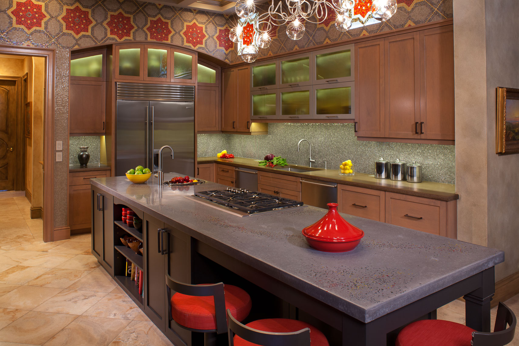 Contemporary Kitchen - Mark Borosch Photography - Siesta Key, FL