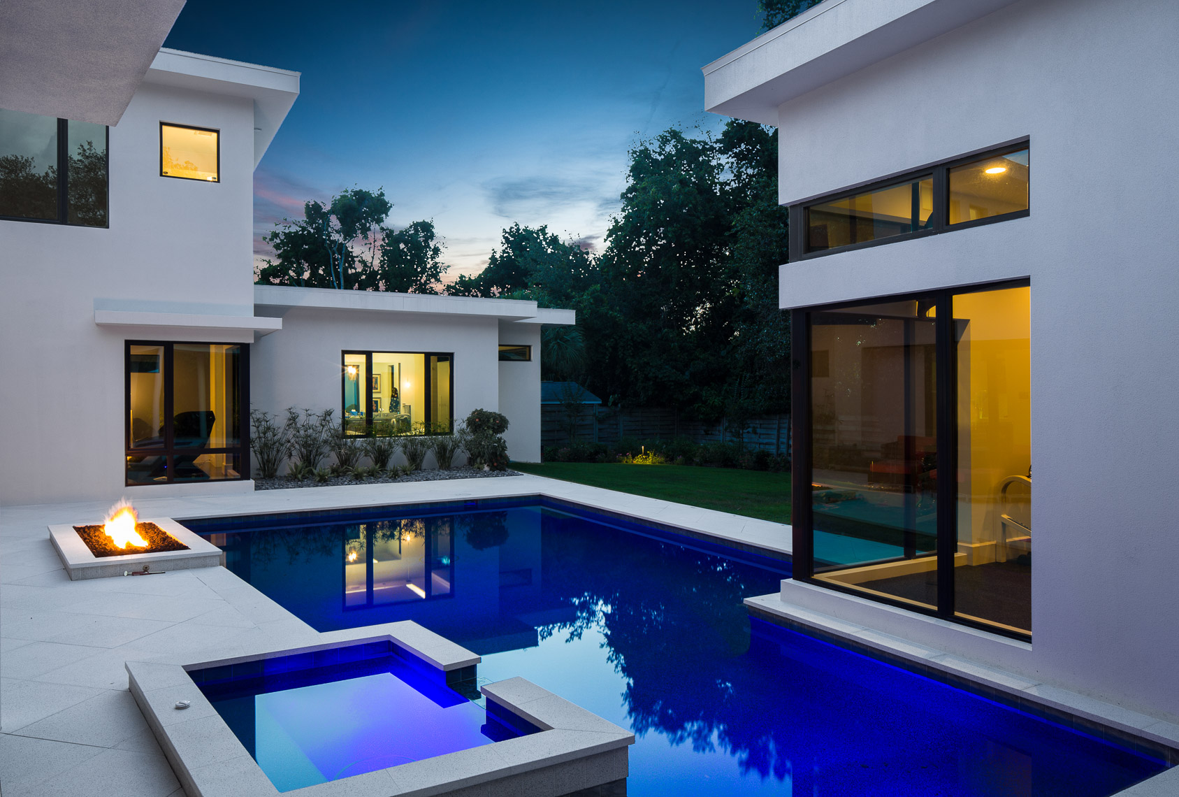 Modern Home - Mark Borosch Photography - Sarasota, FL