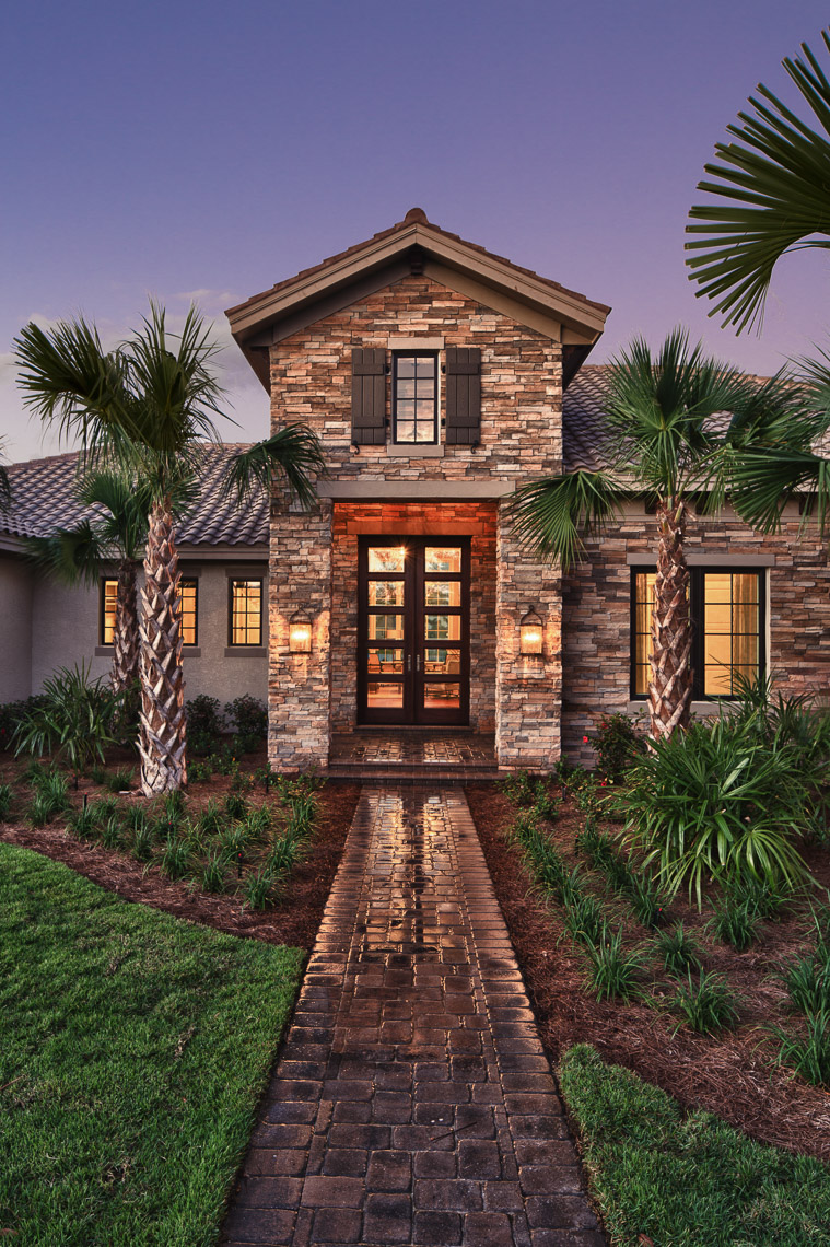 Mediterranean Home - Mark Borosch Photography - Lakewood Ranch, FL