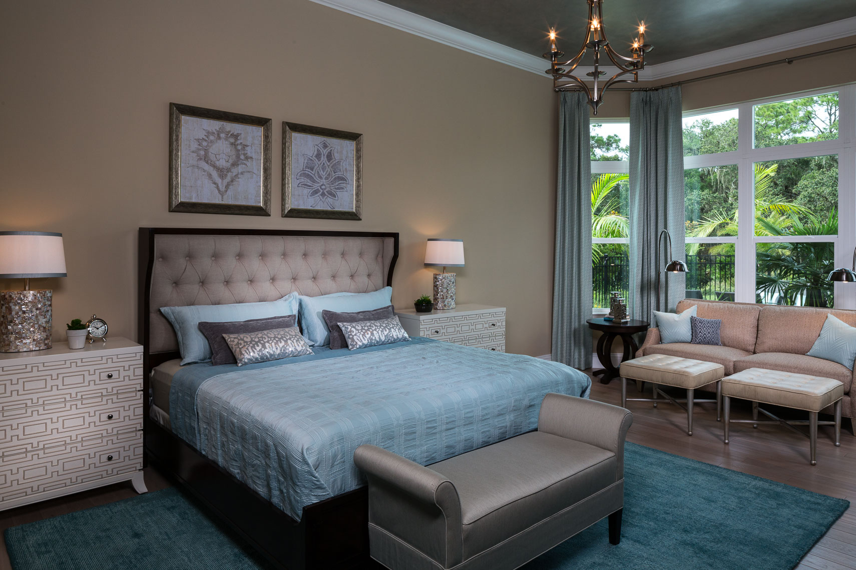 Contemporary Bedroom - Mark Borosch Photography - Lakewood Ranch, FL