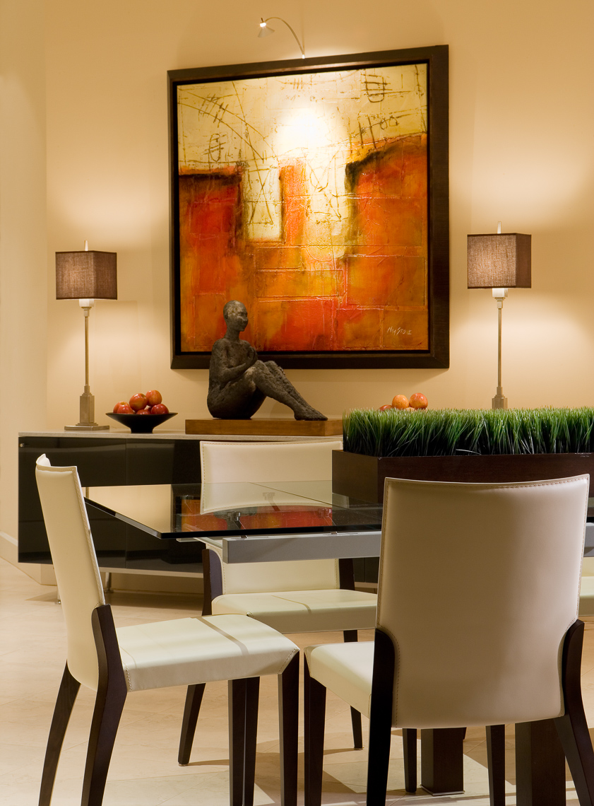 Modern Dining - Mark Borosch Photography - Palm Harbor, FL